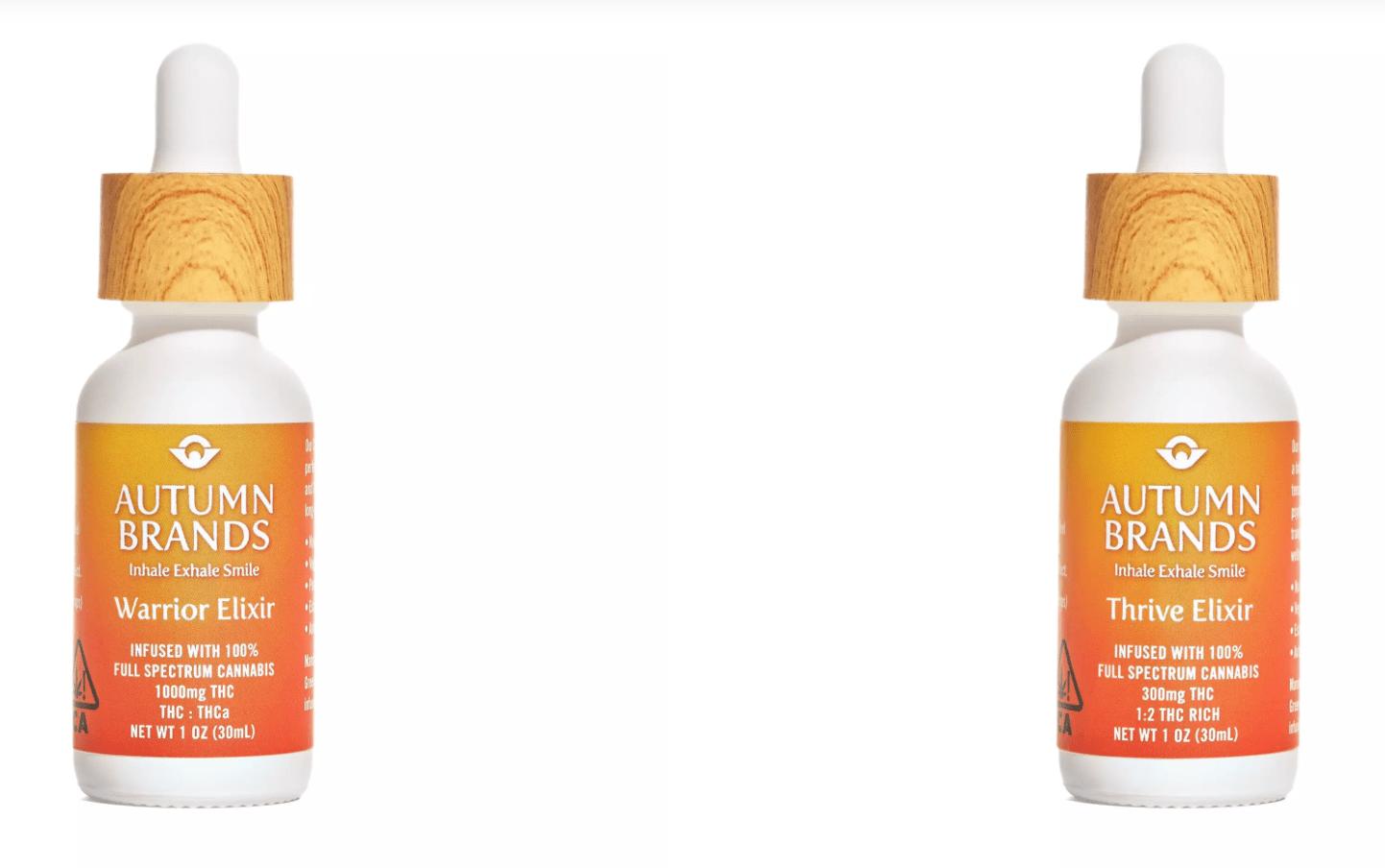 Autumn Brands Thrive Elixir Warrior Elixir