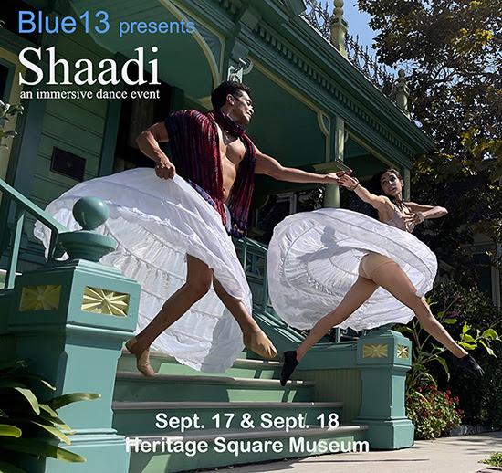 Shaadi Flyer - Blue 13 Dance Celebration