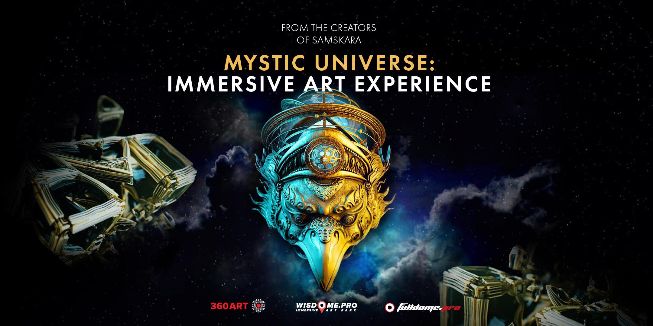 Wisdome LA - Mystic Universe Flyer