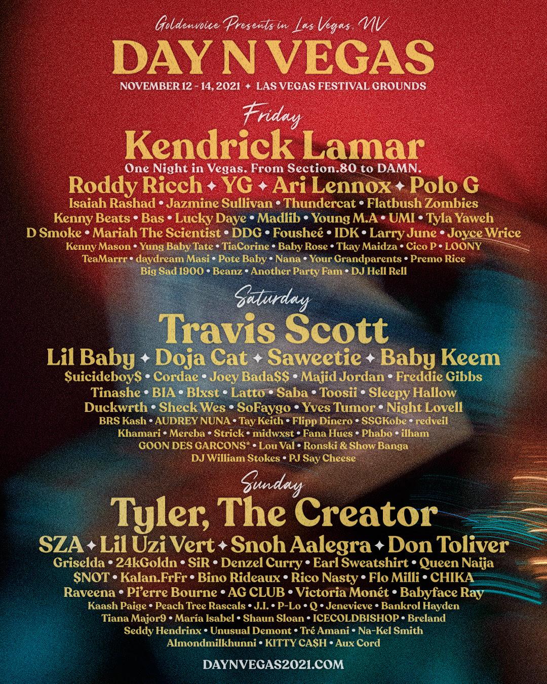 Day N Vegas Festival Flyer