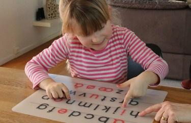 mere viden om alfabetet