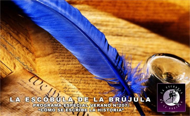 escobula-207-Tertulia verano-Cómo se escribe la Historia