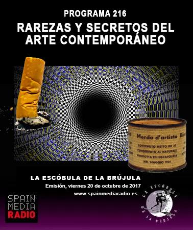 PROGRAMA 216: RAREZAS Y SECRETOS DEL ARTE CONTEMPORÁNEO