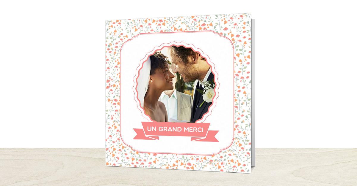 et vous quaviez vous choisi pour vos remerciements mariage - Formule Remerciement Mariage