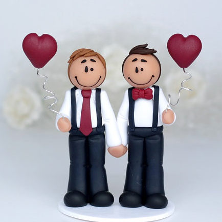 figurine de mariage gay michael - Figurine Gateau Mariage Personnalis