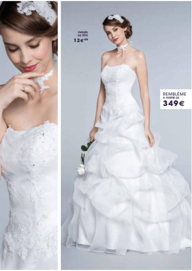 Tati mariage robe Remblème - La fabrique à mariage