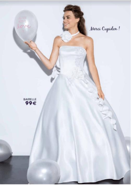 Tati mariage robe bairelle - La fabrique à mariage