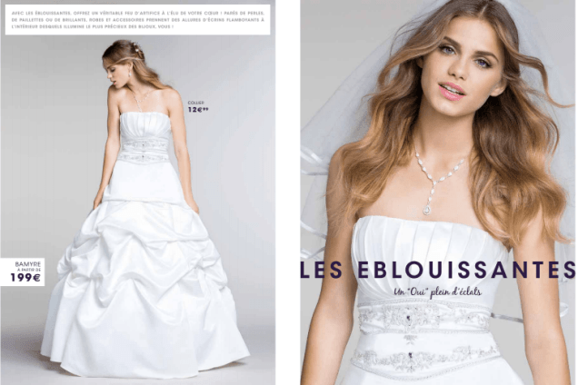 Tati mariage robe bamyre - La fabrique à mariage