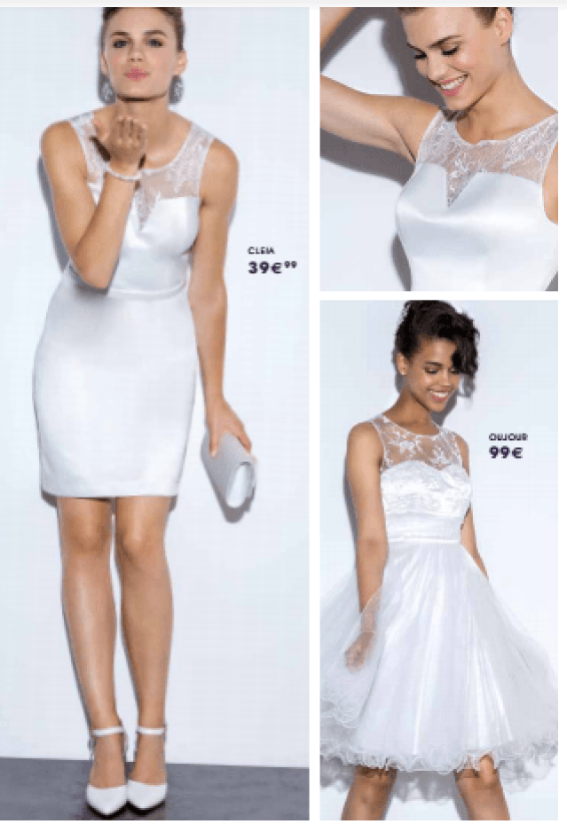 Tati mariage robe cleia - La fabrique à mariage
