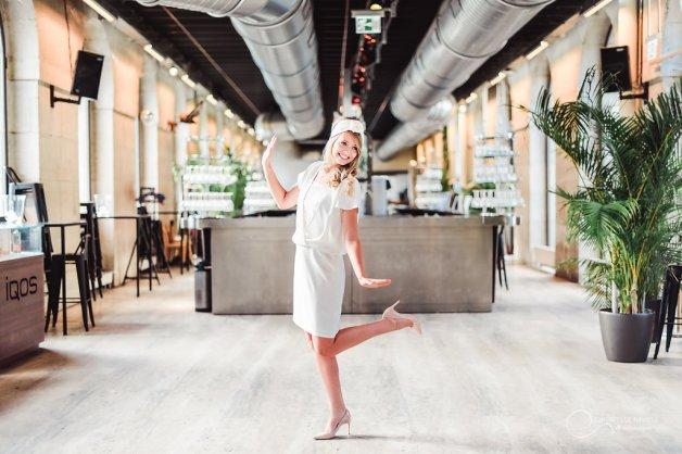 robe courte LES MARIEES FOX-mariage civil - la fabrique à mariage