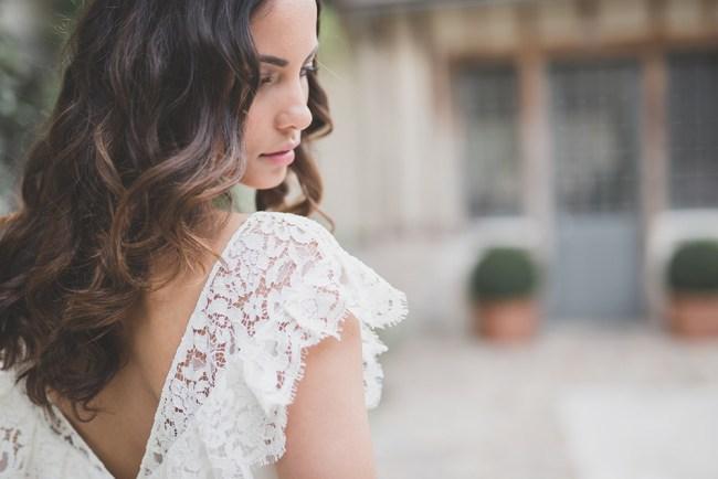 ROBE NACERA DOS - les mariées fox - la fabrique a mariage