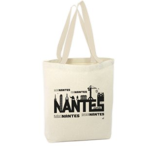 Sac 100% coton Nantesa