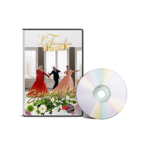 DVD cover Spring is here packshot