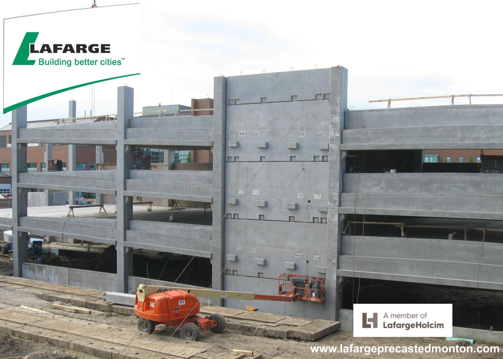 Precast parking garage construction western canada for Garage building contractors