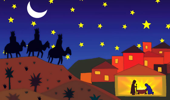 Feliz Dia De Reyes La Fe Catolica