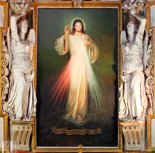 Imagen de Jesús de la Divina Misericordia