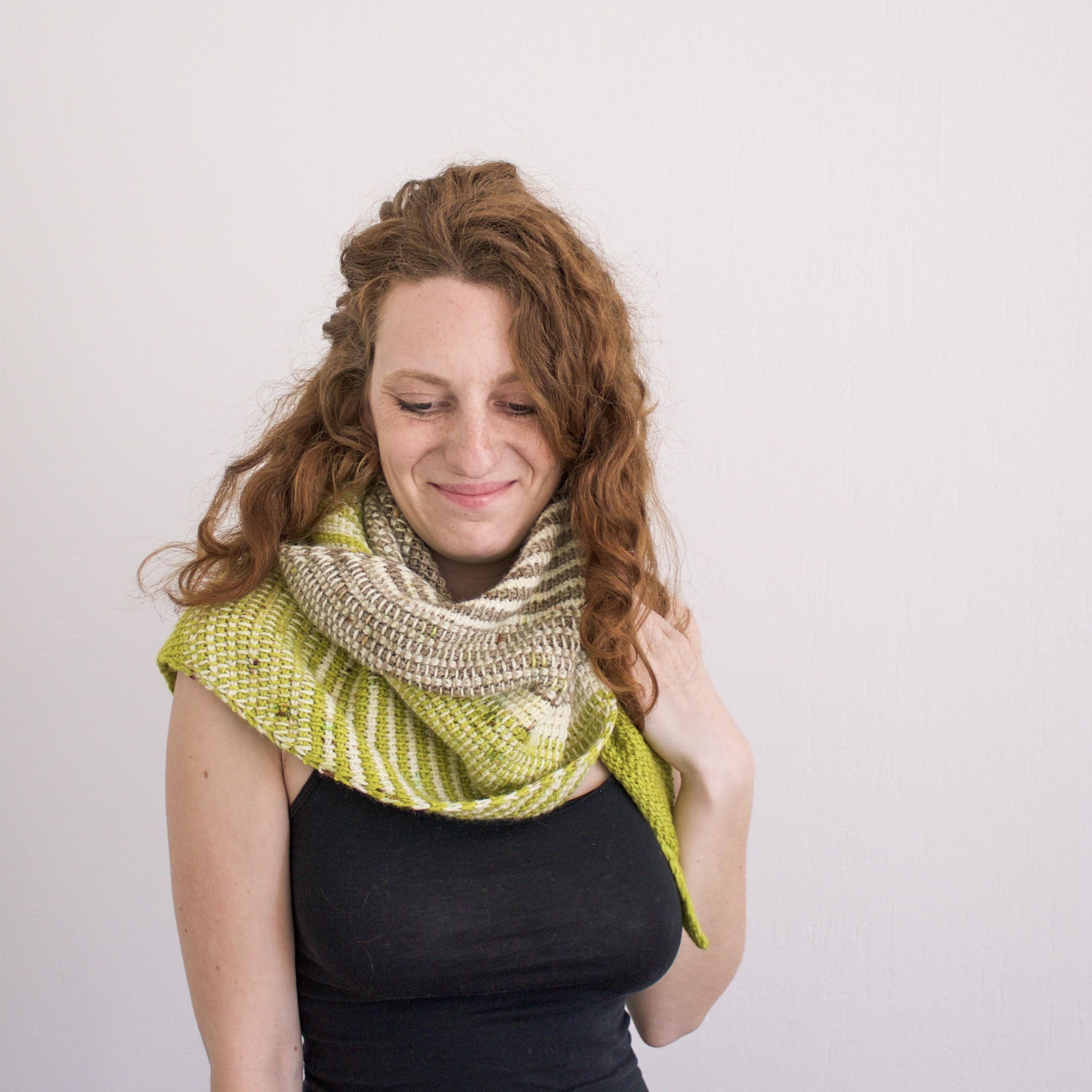 Cal Adeline : crochetons ensemble un joli Châle