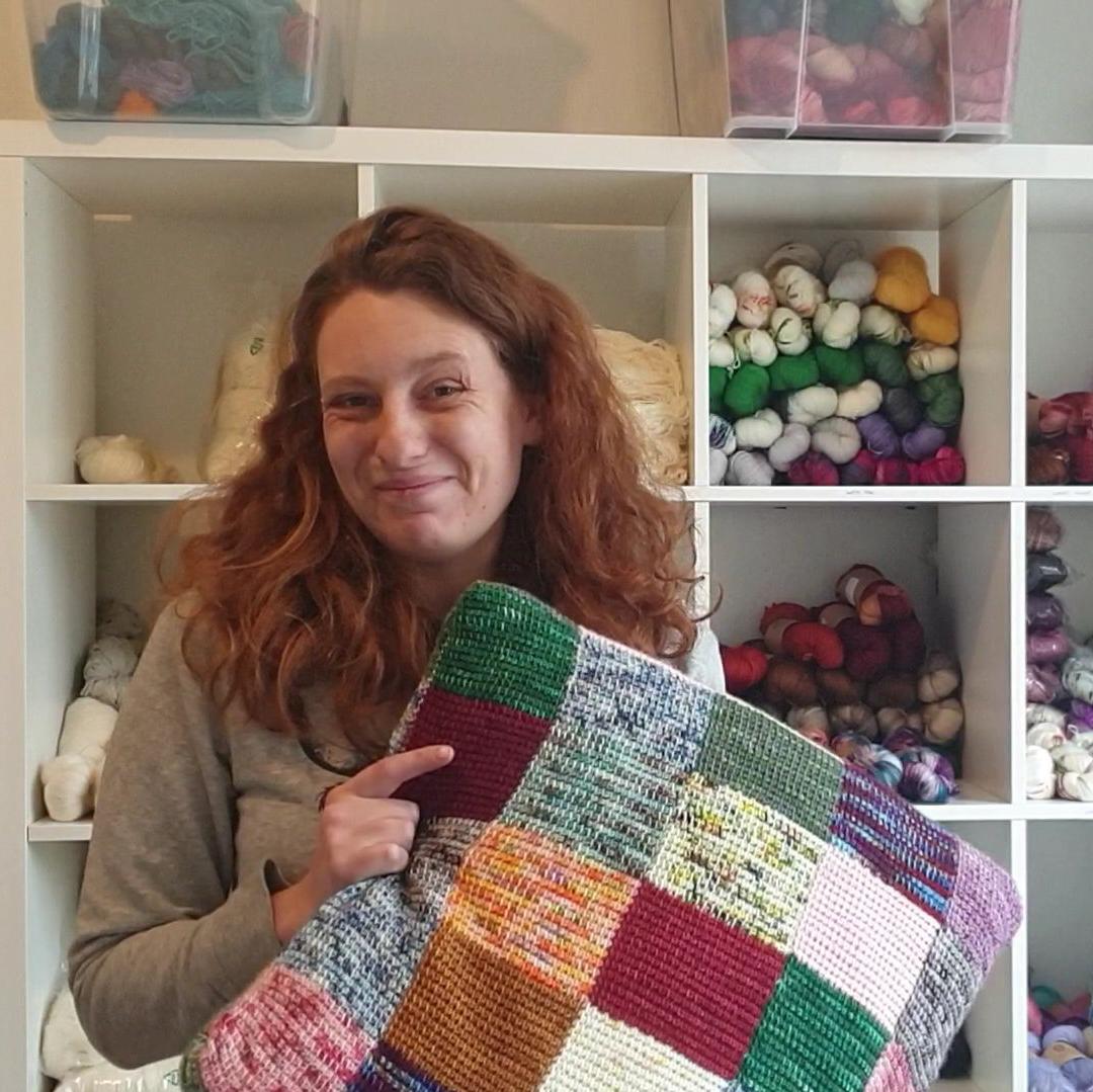 Le Patchwork au crochet tunisien
