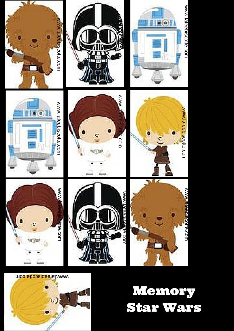 Amusez les enfants avec des activit s star wars la f e - Photo star wars a imprimer ...
