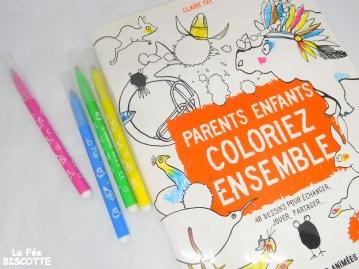 livre de coloriage parent enfant