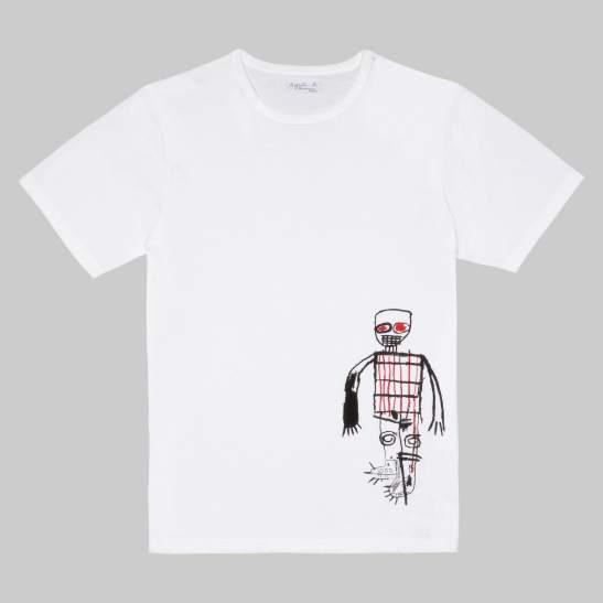 T-shirt Basquiat par Agnes B.