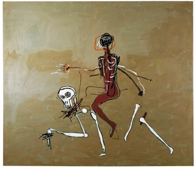 basquiat death riding