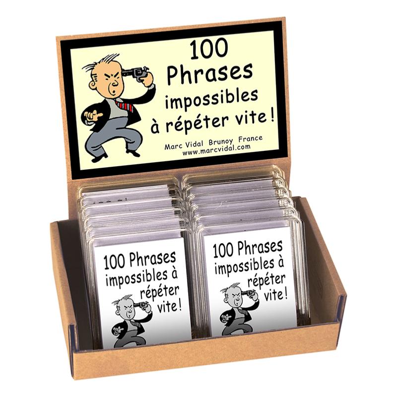 100 phrases impossibles à répéter vite