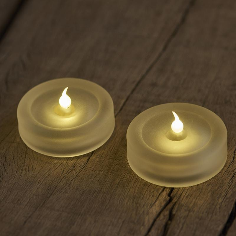 2 bougies Led de table LISE
