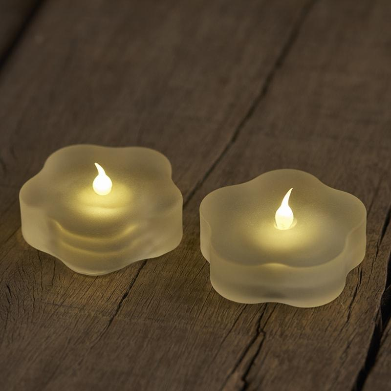 2 bougies Led de table LOTTE