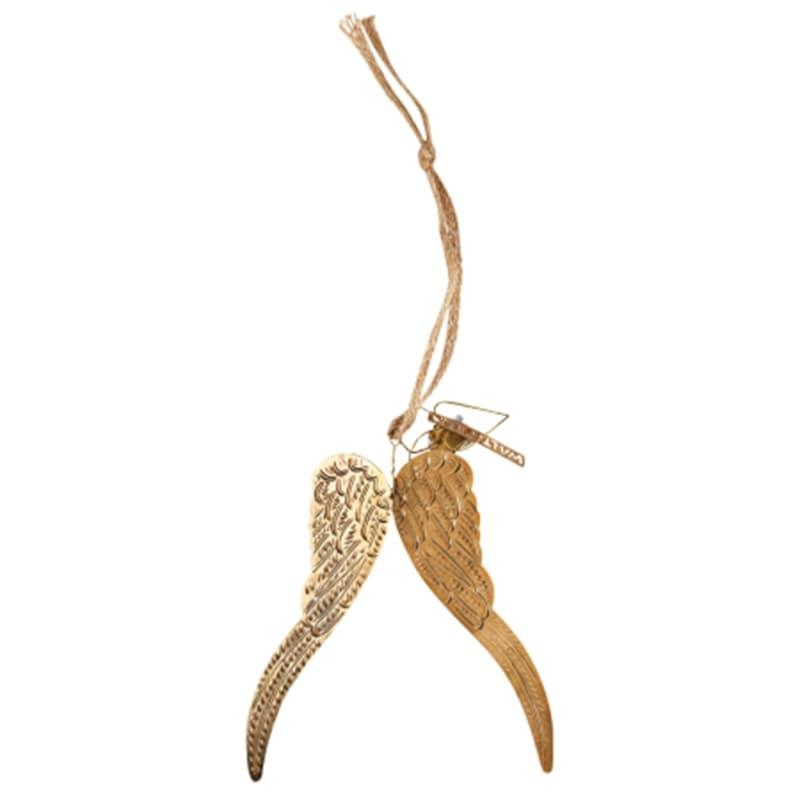 Ailes d'ange dorées 15cm