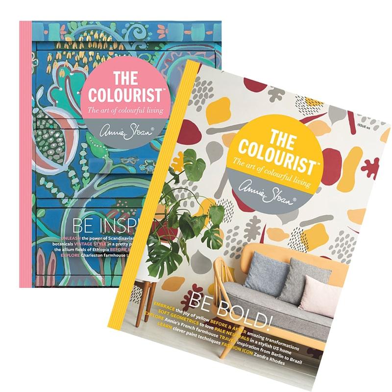 magazines The Colourist #1 et #2 d'Annie Sloan