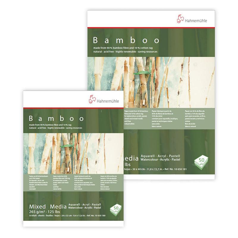Bloc papier bambou multi-techniques BAMBOO