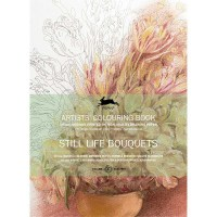 Coloring book STILL LIFE BOUQUETS