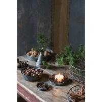 Burette cruche décorative en métal galvanisé EVERYDAY