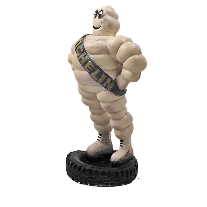 Plâtre publicitaire vintage Michelin