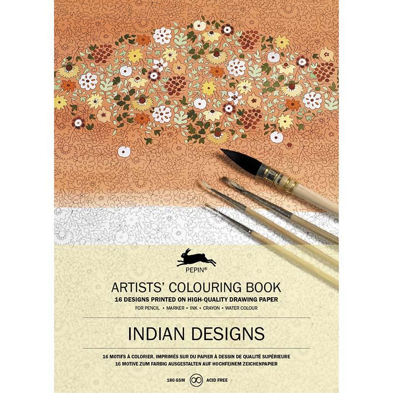Coloring book INDIAN DESIGN
