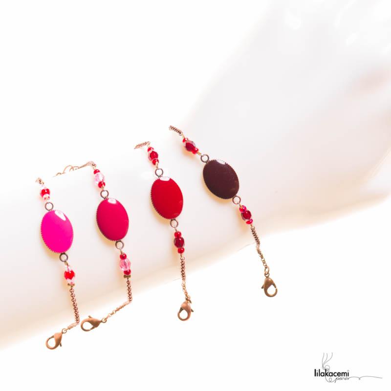 Bracelets de créateur collection Little Ovale par Lilakacemi Paris