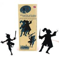 silhouette articulee peter pan et le pirate