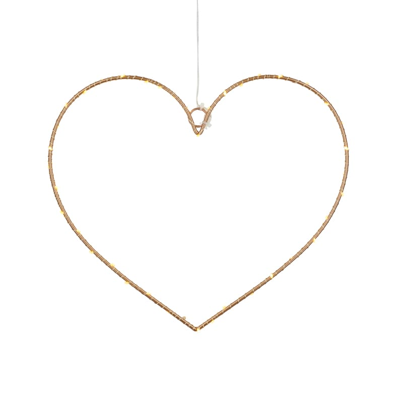 Coeur suspension Liva Heart Gold La Fée Caséine