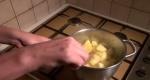 chauffer des pommes