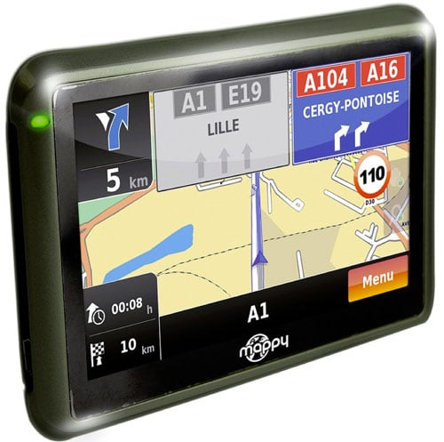 GPS Mappy un guide routier avis
