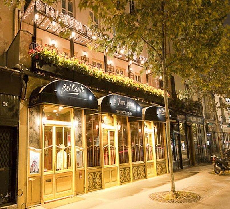 Top 10 des restaurants insolites à Paris