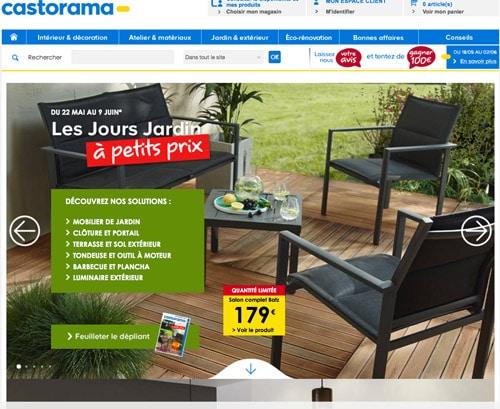 code promo castorama r duction soldes 2017. Black Bedroom Furniture Sets. Home Design Ideas