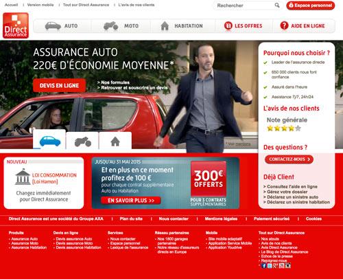 Direct Assurance Auto demandez un devis