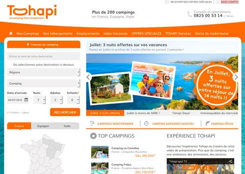 Code promo Tohapi vacances direct réduction 2017