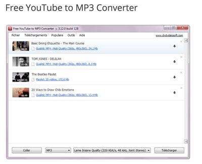 converteur youtube mp3 gratuit