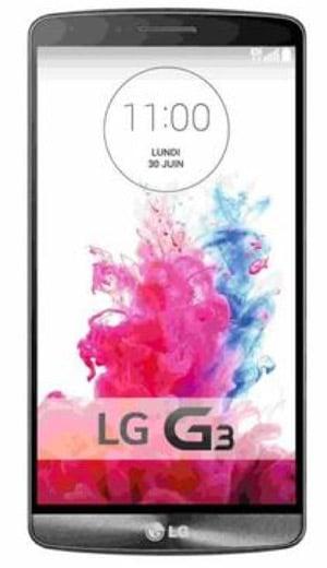 Promo LG G3 32Go 4G Noir prix pas cher sur internet