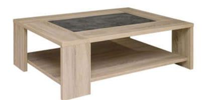 Table basse Fumay design prix en promo pas cher chez Conforama