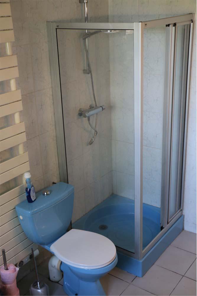 Salle de bains - gîte de la Roderie