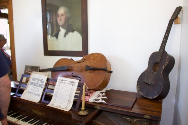 Music Room at the Eagle Bluff Lighthouse